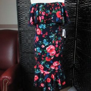 LulaRoe NwT Floral Dress  XS    C25